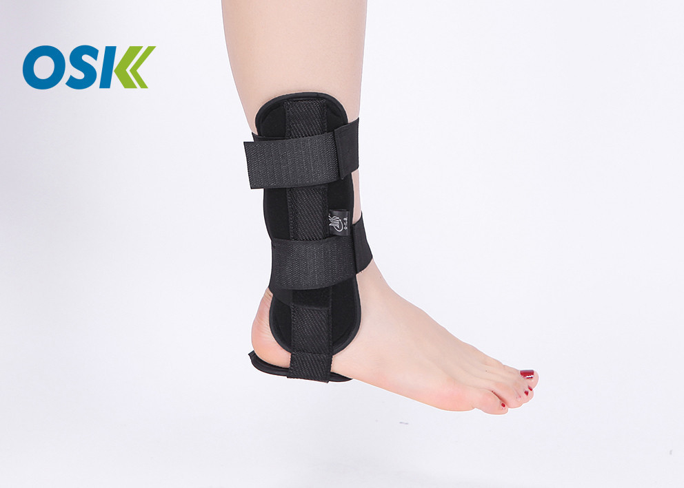 Skin - Fitted Medical Ankle Support Customized Color / Logo Long - Term Usage